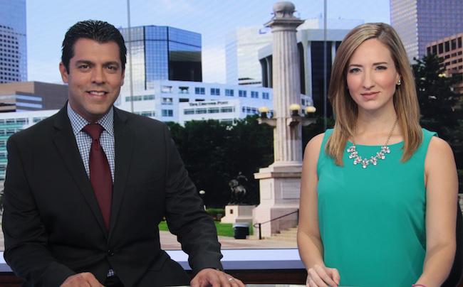 Carlos Rausseo and Pamela Padilla