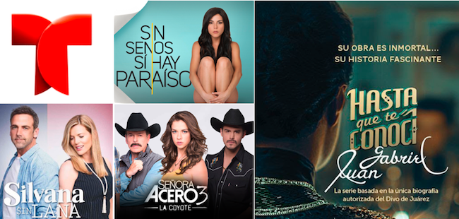 Telemundo's #1 primetime ratings streak continues, extends to Sundays