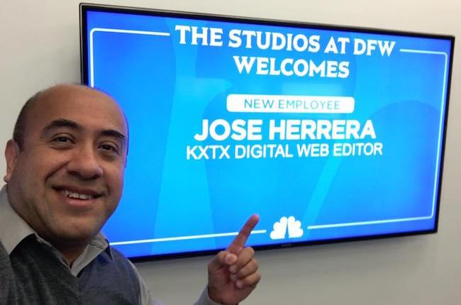 Herrera hired as Web Editor at KXTX