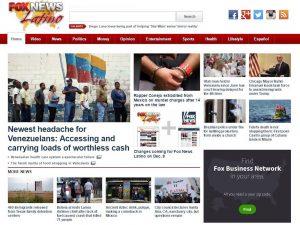 Fox News Latino final homepage Dec 7, 2016