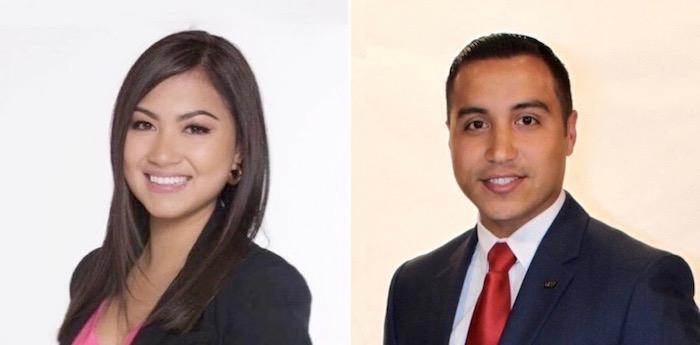 Alexandra Galarza and Brian Mendoza