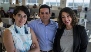 Nola Mundo's Maria Clark, Manuel Torres and Karla Ortiz