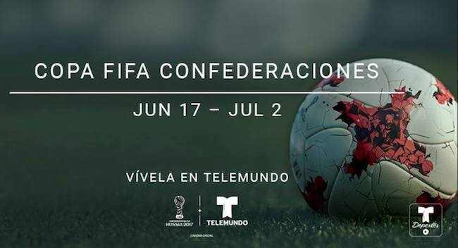 Telemundo Confederations Cup broadcasts reach 9.8 million; score streaming records