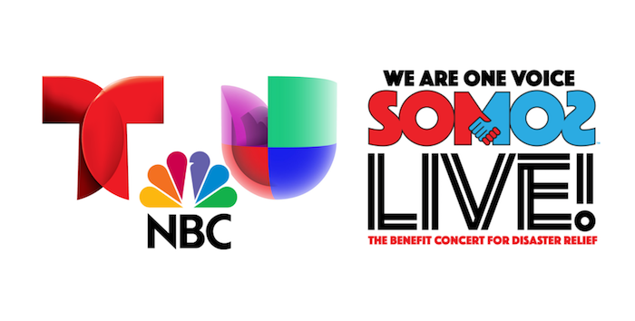 Rivals Telemundo and Univision join forces to simulcast disaster relief concert