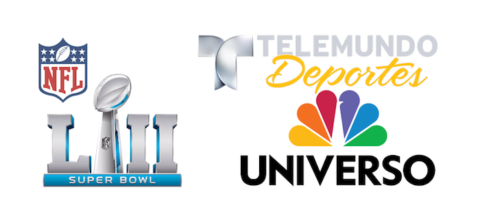 Telemundo Deportes and Universo pick up rights to NFL games and Super Bowl LII