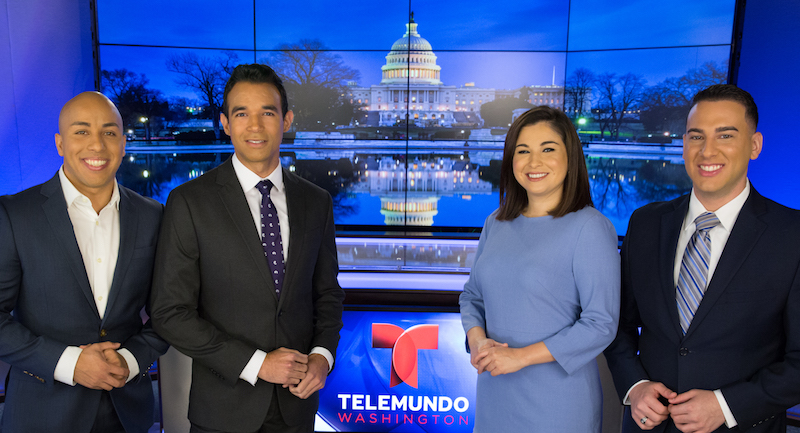 Telemundo DC adds Zamora and Martínez to anchor team for January relaunch