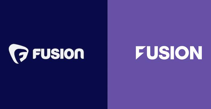 Fusion rebrand logos