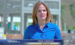Angie Sandoval Aqui y Ahora