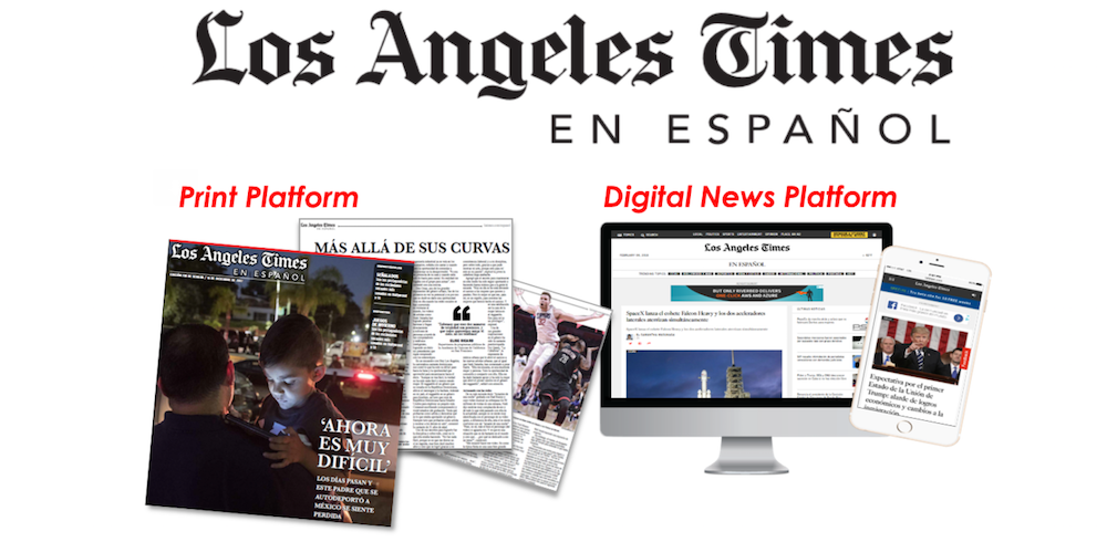 Los Angeles Times launches LAT en Español