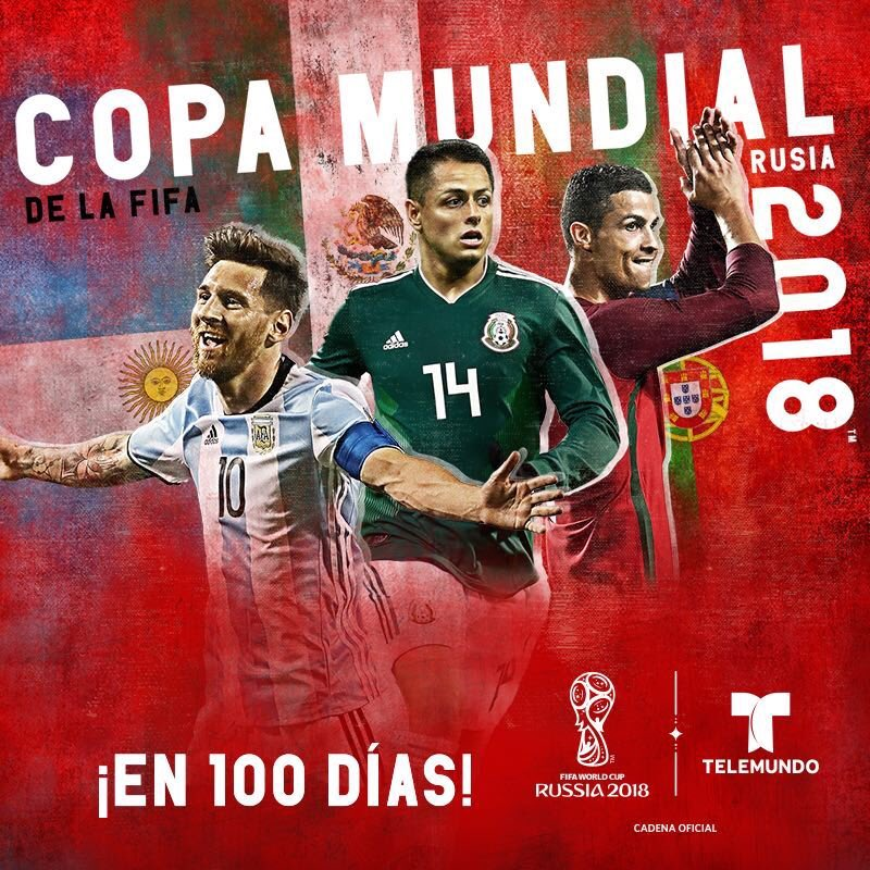 Telemundo Kicks Off 100-Day Countdown To 2018 FIFA World Cup Russia