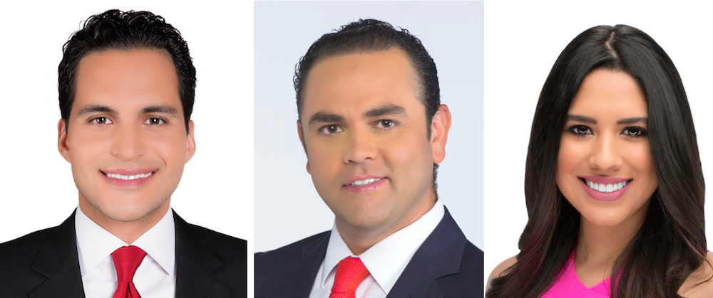 Enrique Chiabra - Guillermo Ochoa - Tania Leal