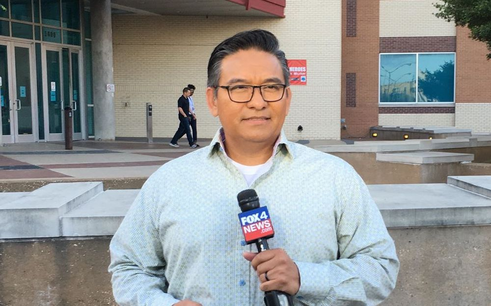 Garza leaves TV news for media relations job
