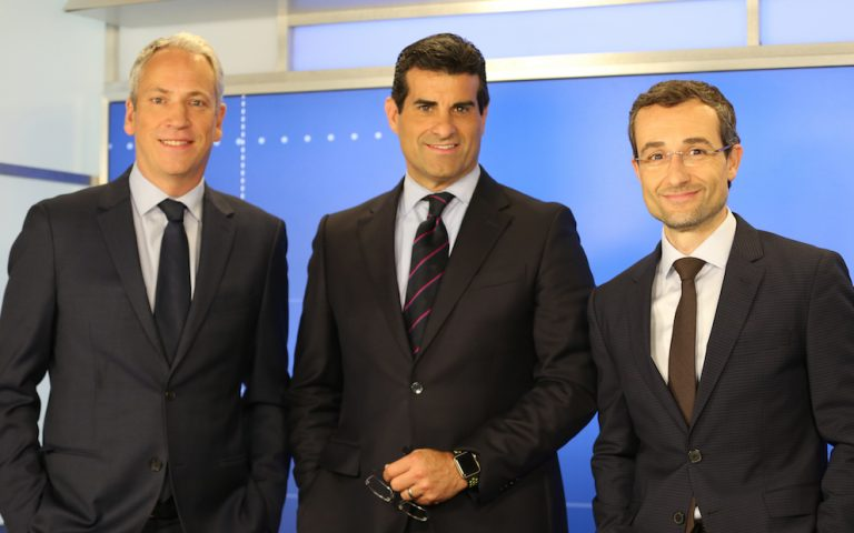 Philip Klint, Adhemar Montagne, and Juan Manuel Benitez