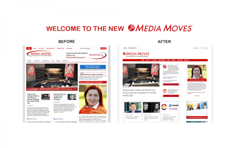 Welcome to new Media Moves