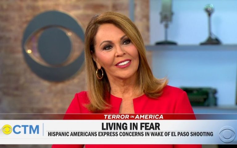 Maria Elena Salinas CBS debut