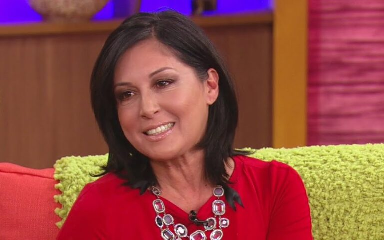 Edna Schmidt during a 2014 Univision interview.